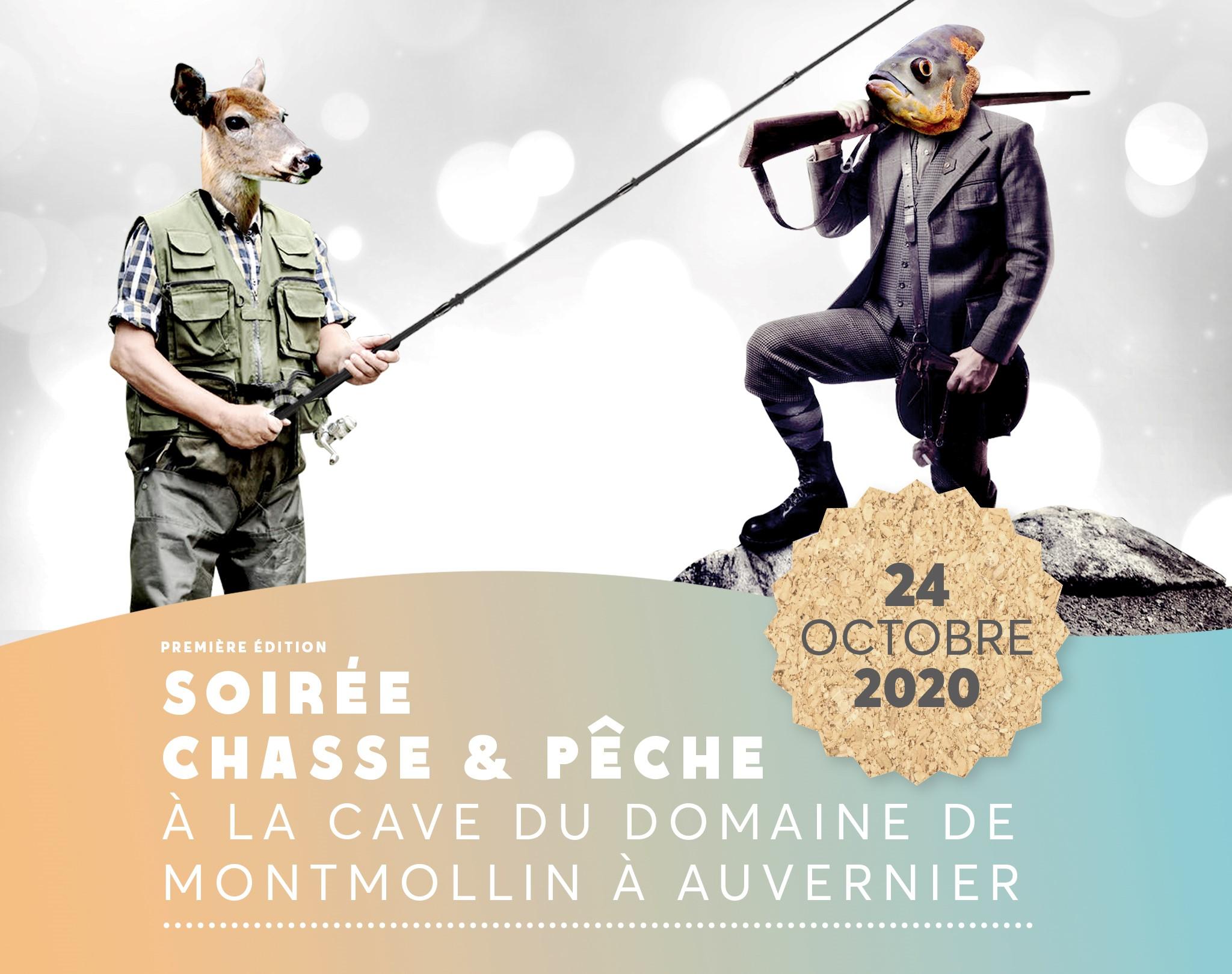 Soirée chasse et pêche 24 octobre