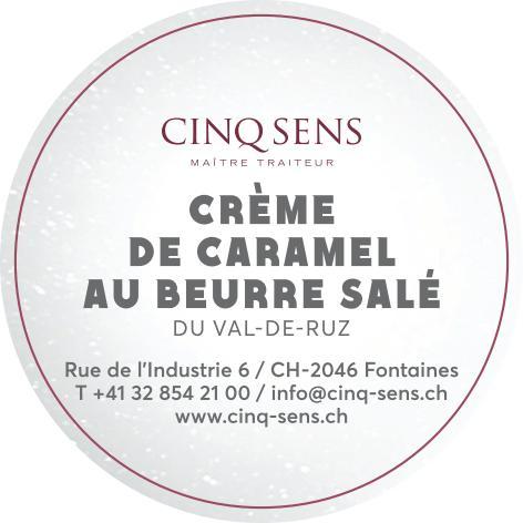 Crème de caramel au beurre salé du Val-de-Ruz