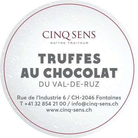 Truffes au chocolat du Val-de-Ruz