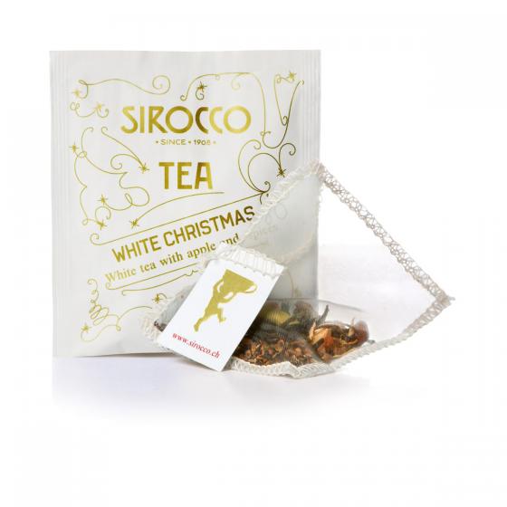 "Sachets de thé ""White Christmas"" Sirocco"